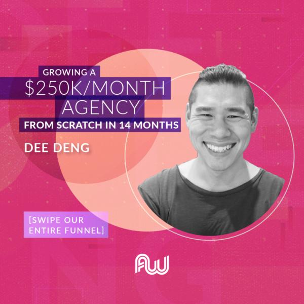 Dee Deng AWA18 Speaker Announcement