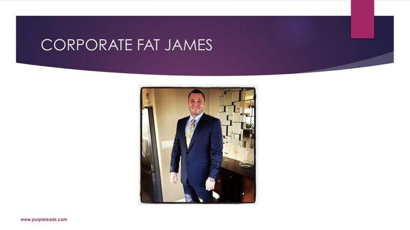 James Van Elswyk - Corporate Fat James