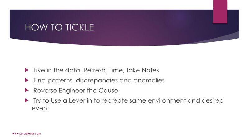 James Van Elswyk - How To Tickle