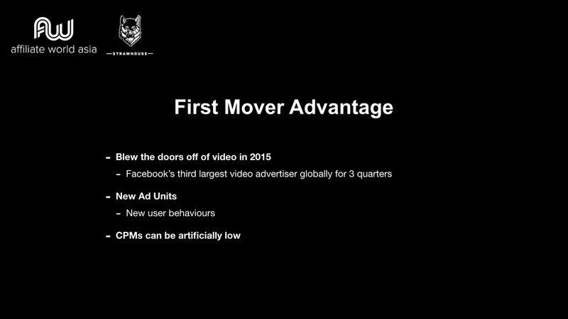 Jason Kryski - First mover advantage