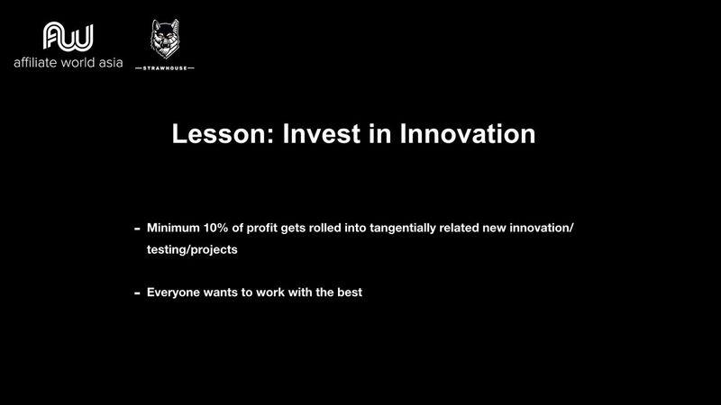 Jason Kryski - Lesson: Invest in Innovation
