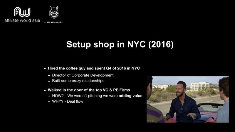 Jason Kryski - Setup shop in NYC
