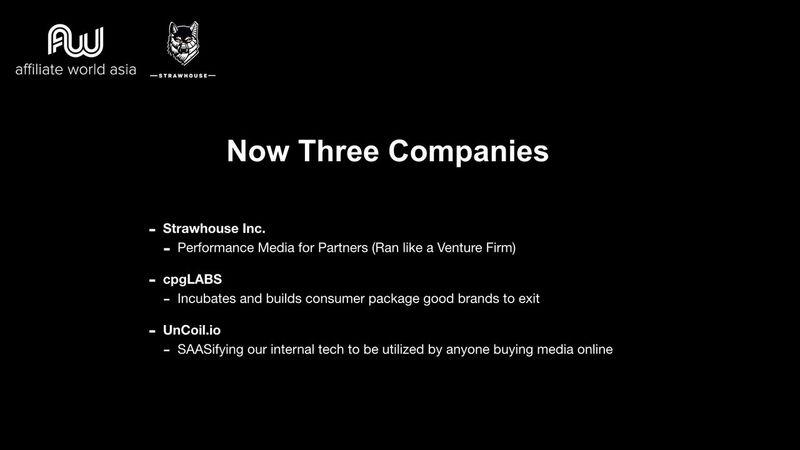 Jason Kryski - Three Companies