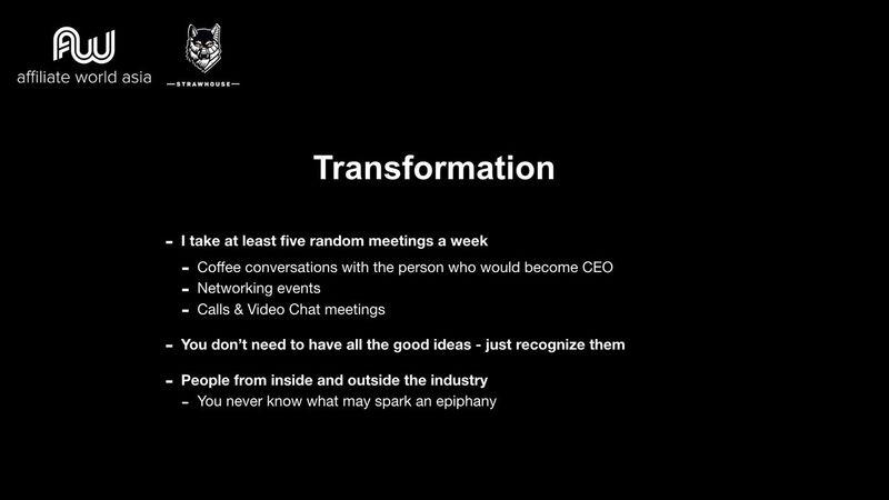 Jason Kryski - Transformation