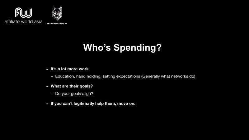 Jason Kryski - Who's Spending