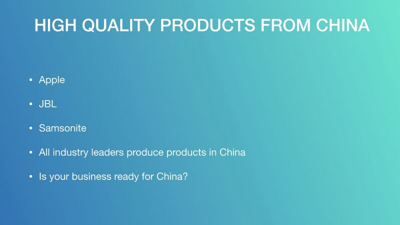 Mark Houng - High Quality Products From China