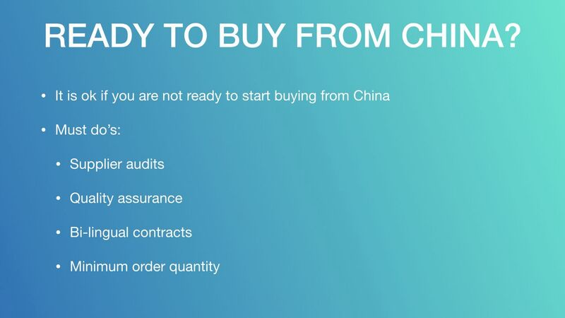 Mark Houng - Ready To Buy From China