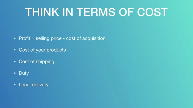 Mark Houng - Think In Terms Of Cost