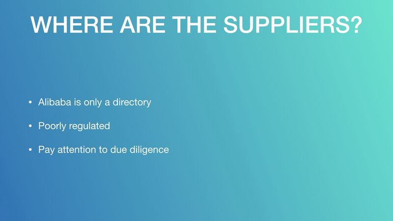 Mark Houng - Where Are The Suppliers