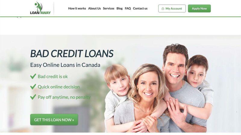 Neil Patel - Credit Loans Landing Page
