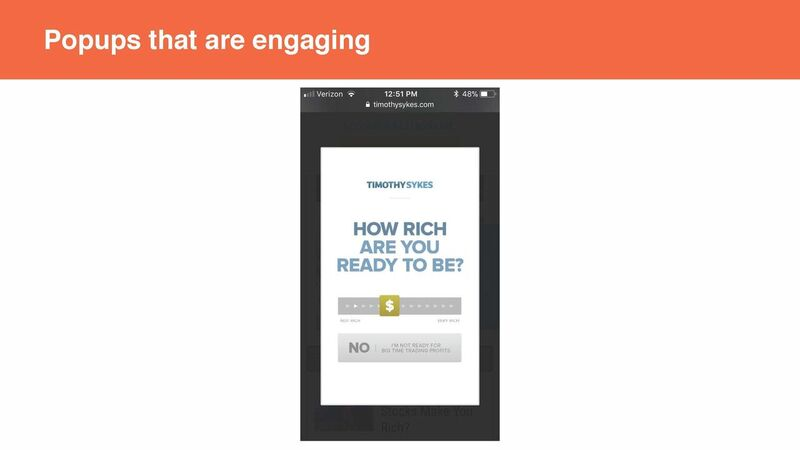 Neil Patel - Popups that are engaging
