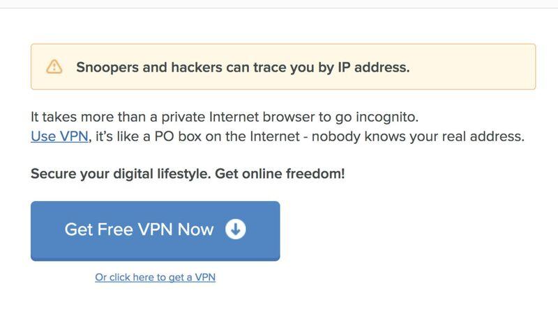 Neil Patel - VPN Landing Page