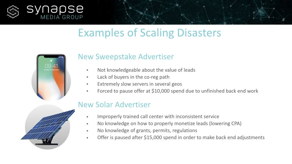 Paul Jeyapal – Examples of Scaling Disasters