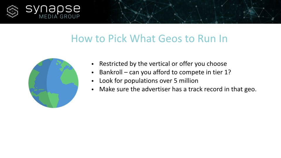 Paul Jeyapal – How To Pick What Geos To Run In