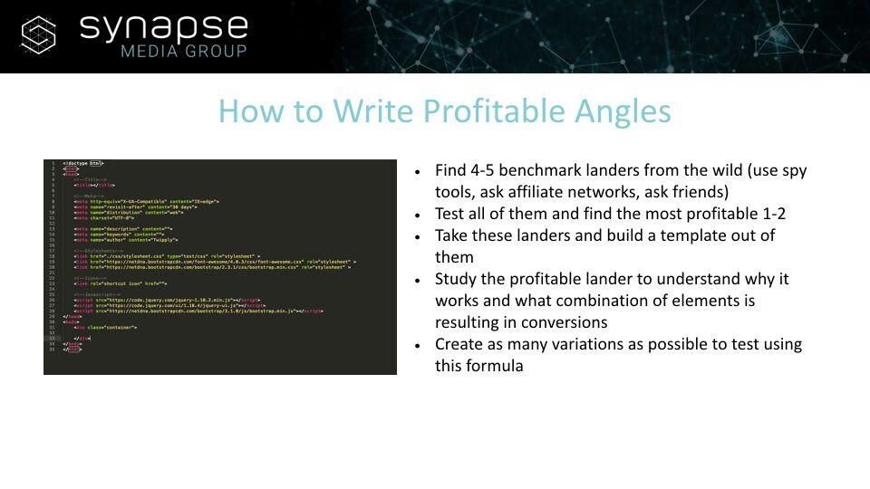Paul Jeyapal – How To Write Profitable Angles