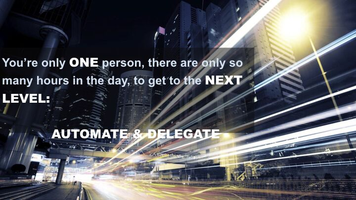 Rishan Bhagowat - Automate and Delegate