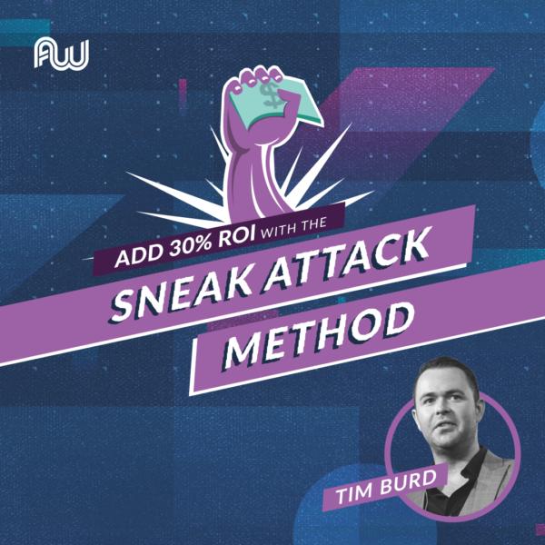 Tim Burd AWA18 Speaker Announcement