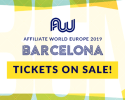 Affiliate World Europe 2019 in Barcelona