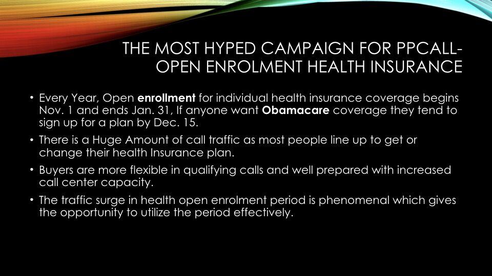 Tabish Nishat – Open Enrollment Health Insurance