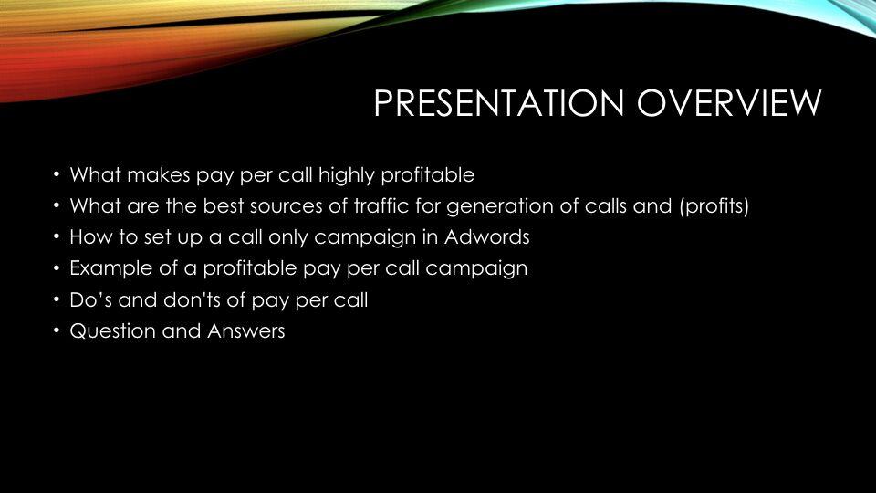 Tabish Nishat – Presentation Overview