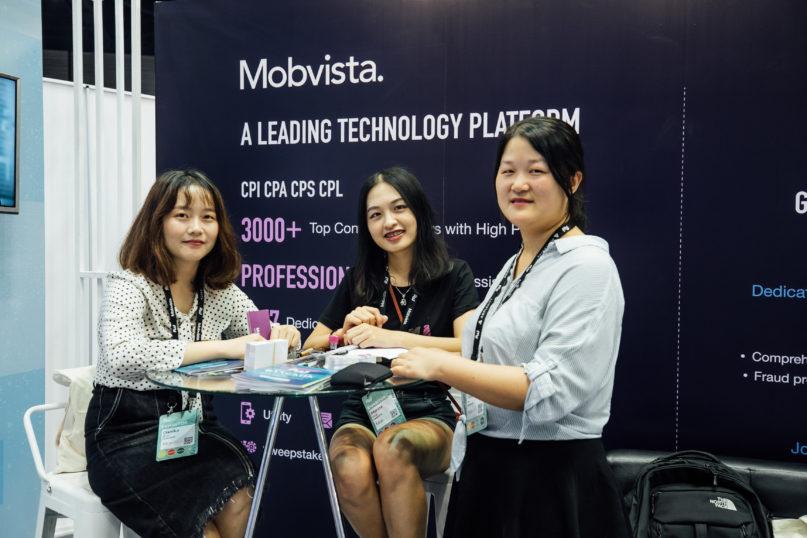 Mobvista at Affiliate World Asia 2018 in Bangkok, Thailand