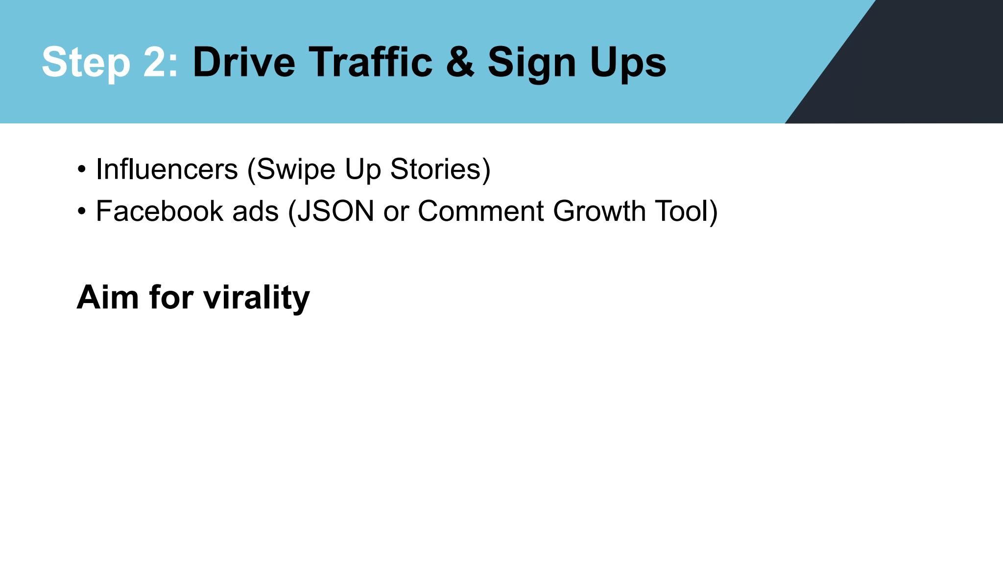 Dimitri Nikolakakis – Drive Traffic And Sign Ups