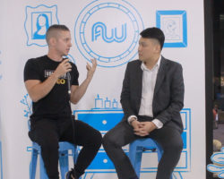 Kevin David at Affiliate World Asia 2018 in Bangkok, Thailand