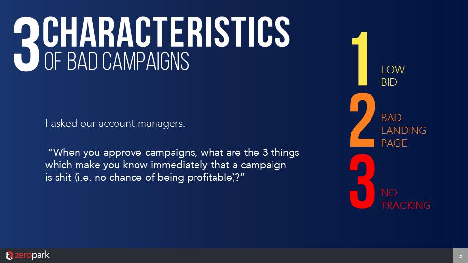 Mateusz Drela – 3 Characteristics Of Bad Campaign