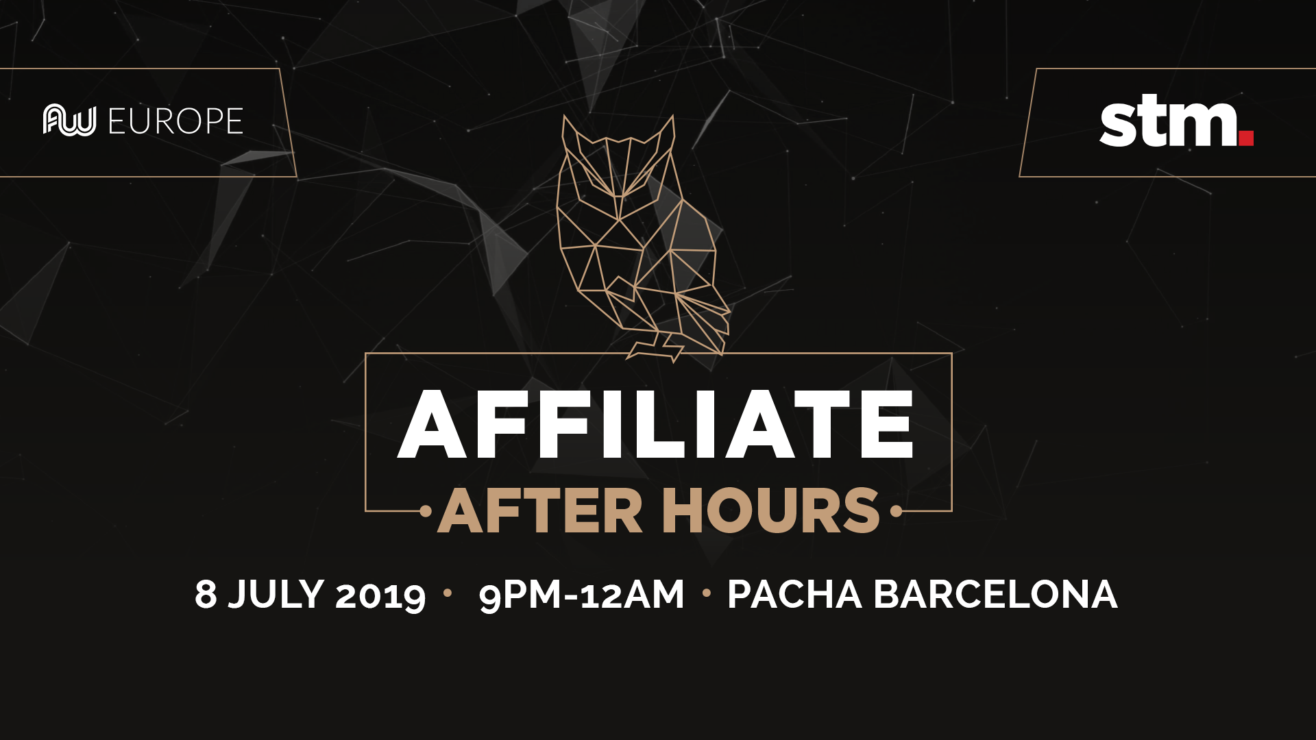 Affiliate After Hours: 8th July - Pacha, Barcelona
