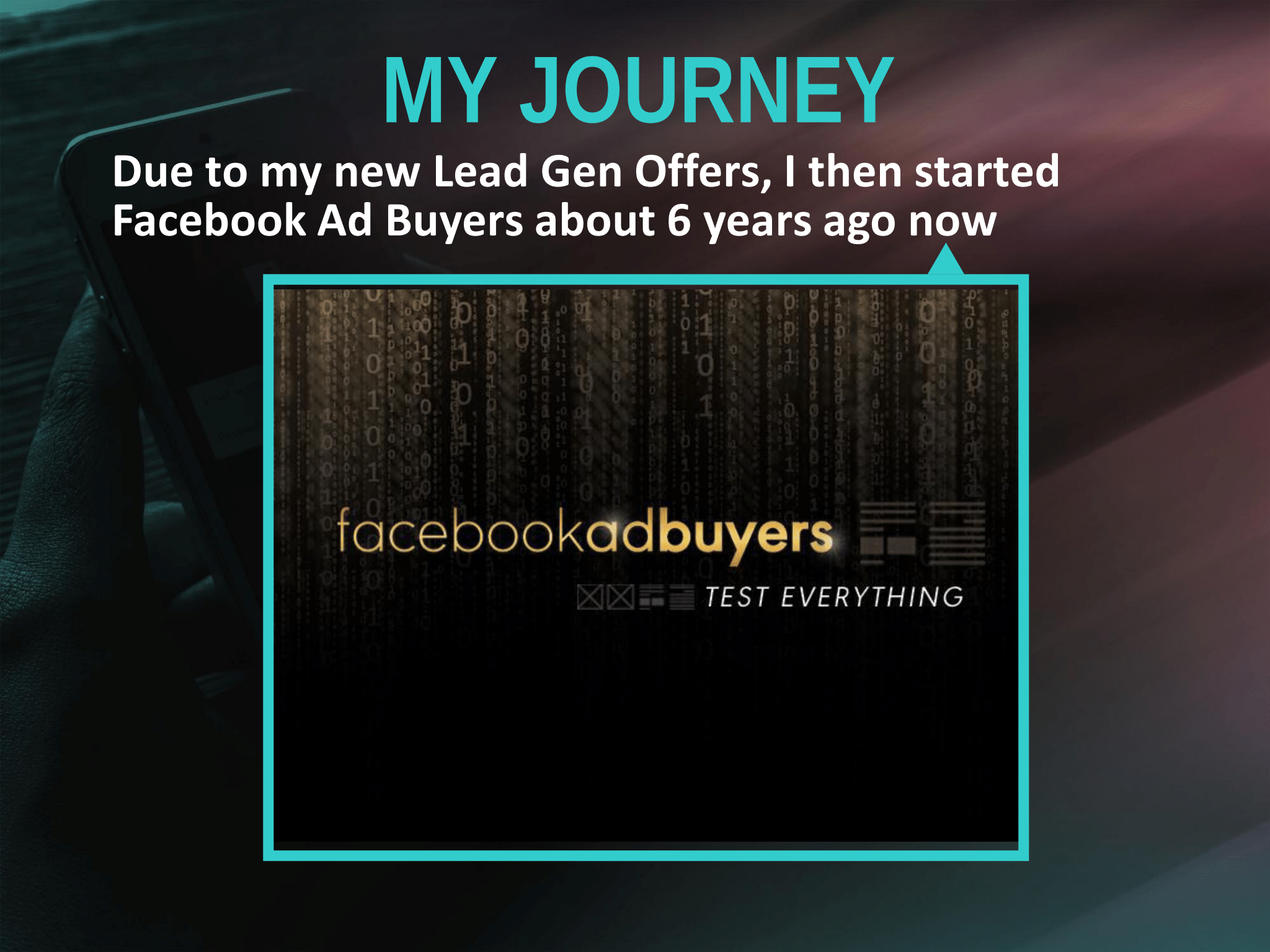Tim Burd – Facebook Ad Buyers