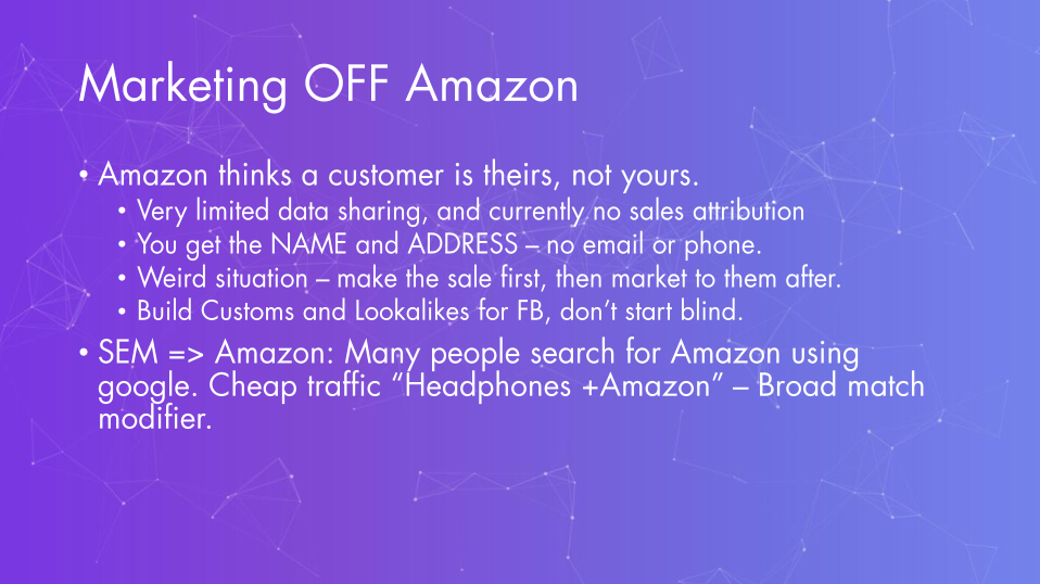 Zack Franklin – Marketing OFF Amazon