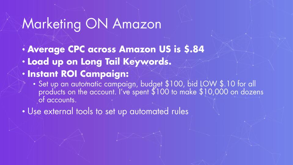 Zack Franklin – Marketing ON Amazon