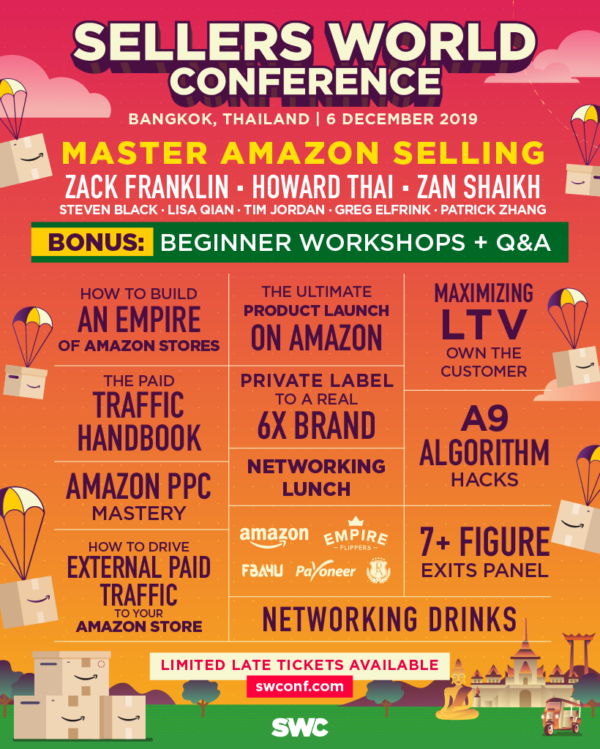 Sellers World Conference Line-up 2019
